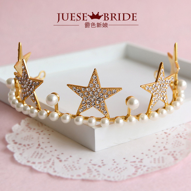 Crown princess bride hair accessory  wedding accessories marry style accessories