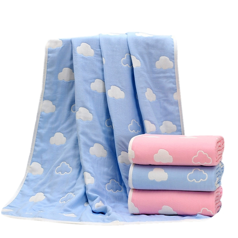 Baby Thick Blanket Quality Newborn 6 Layers Bedding Autum Winter Baby Breathable Muslin Blankets Large Soft
