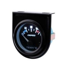 Medidor de temperatura CNSPEED de 52mm para coche, medidor de temperatura para coche, Panel frontal negro, medidor de temperatura de agua para coche, YC101261