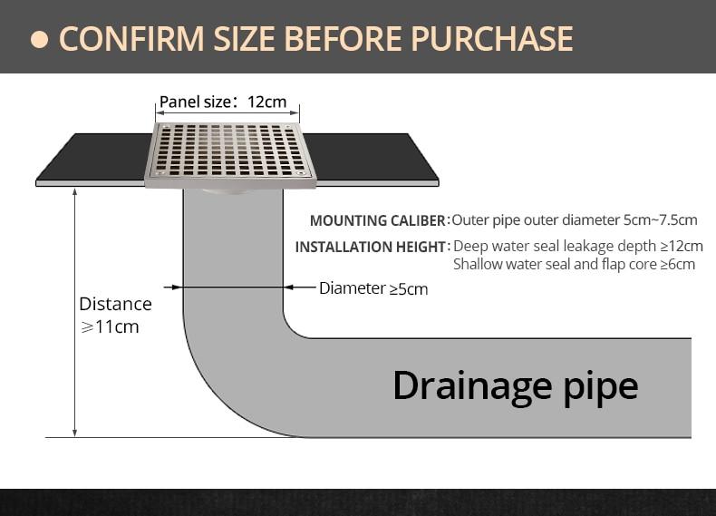 Floor drain (10)
