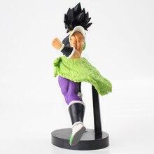 23 cm de la bola del dragón del Anime Z Super Broly final soldados la película Banpresto juguetes Broly Ver PVC modelo colección muñeca