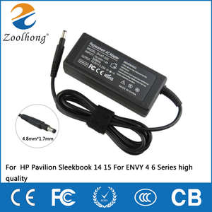 Charger Notebook Power-Adapter Pavilion Laptop Ac ENVY 65W for HP Hp/Pavilion/Sleekbook/..