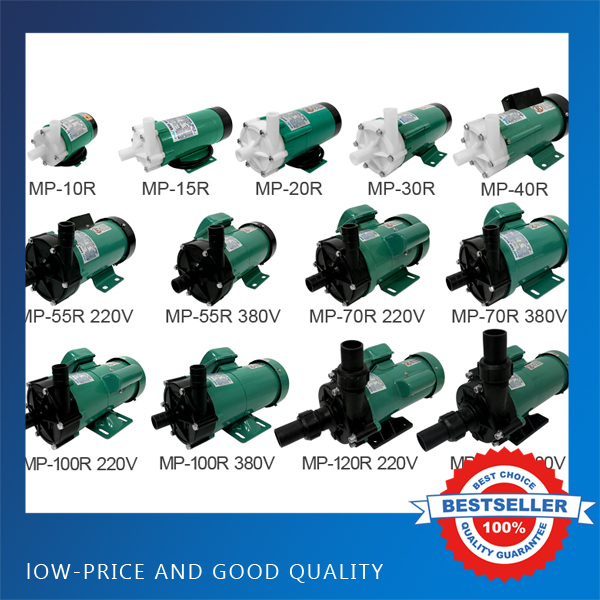 MP 30R/RM MP Plastic Magnetic Drive Pump Acid Resistance Magnetic Centrifugal Pump Transport Waste Liquid