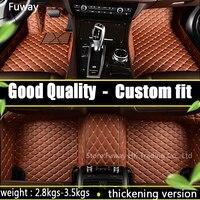 Автомобильные коврики высококлассные роскошный набор спереди и сзади пыли грязи для Mini Cooper F56 F55 R60 R59 R61 хэтчбек clubman земляк