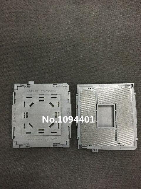 1 pcs * Novo Socket LGA2011 LGA2011-V3-V3 CPU Base de Base de Conector PC BGA