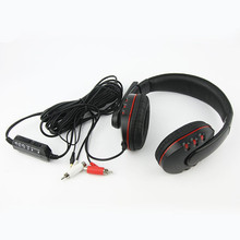 Wired Stereo Headset Earphone Headphone Fone de ouvido with Mic for Game Player PS4 PS3 XBOX 360 Gaming Chat Communicator