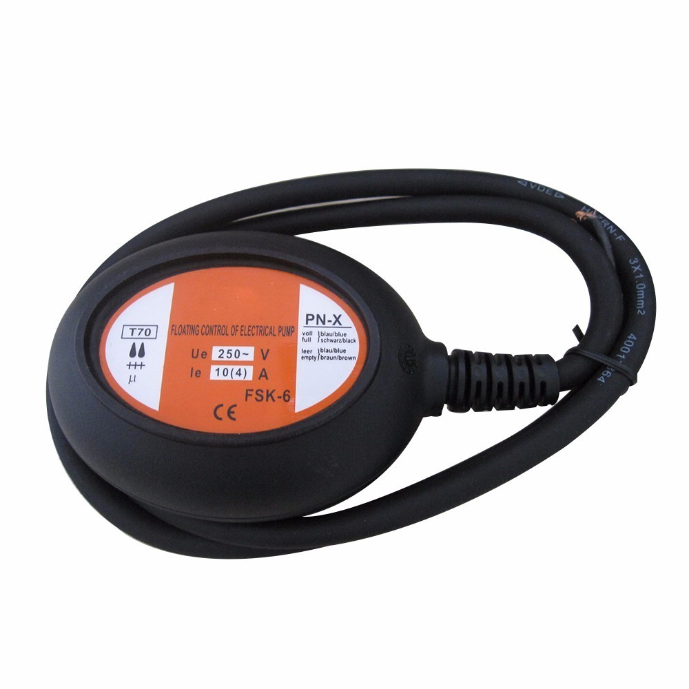 cheap price hot sale cable float switches mk cfs05 4 meter black cable water pump float switch fluid level controller ac 250v [ 1000 x 1000 Pixel ]