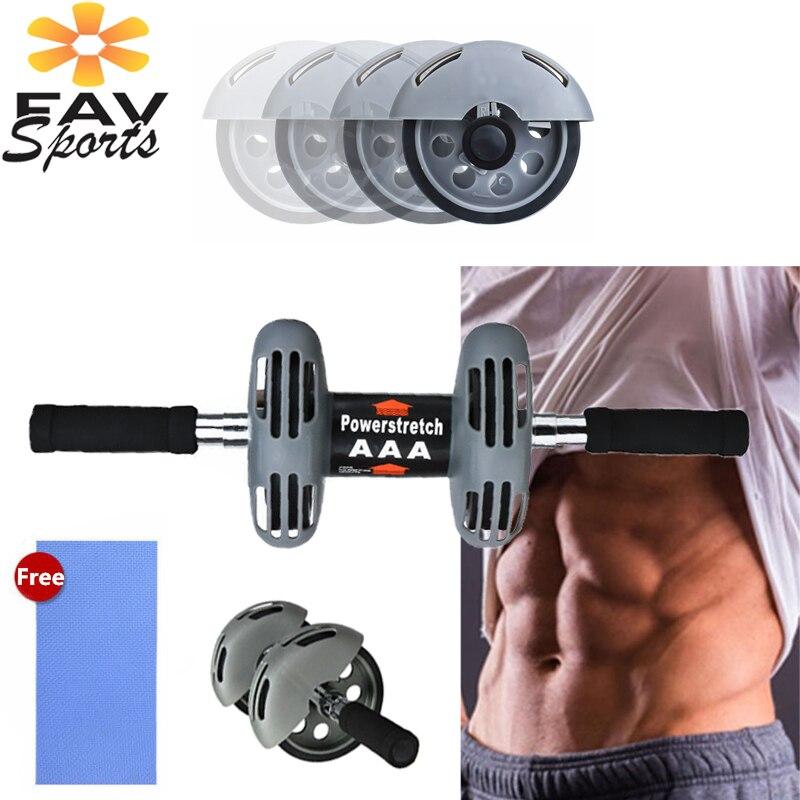 Roue abdominale bras entraînement musculaire Fitness AB Roller pour exercices pas de bruit entraînement ventre jambe minceur équipement de Fitness