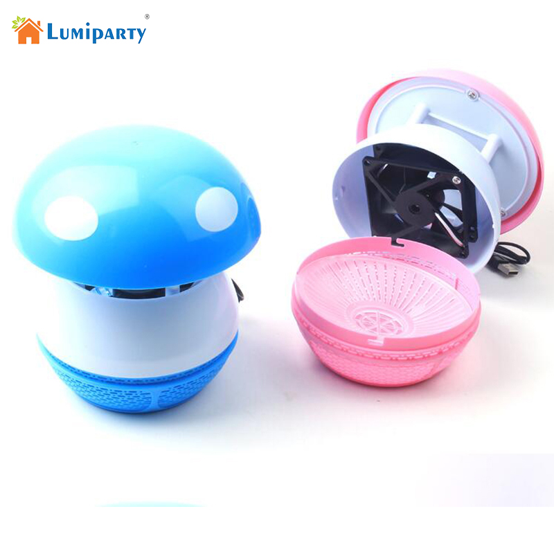 Lumiparty Household Ultra Silent USB Rechargeable Electronic LED Mosquito Insect Bug Pest Fly Inhaler Trap Repellent Killer Lamp ultrasonic pest repeller electronic insect repellent device pest control rodent mouse anti mosquito insect outdoor camping tools