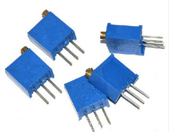 Free Shipping 500PCS 3296W 50K Ohm  Trimmer Potentiometer 3296W-503