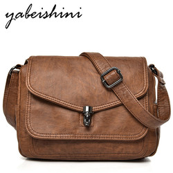 2-camada clamshell Mensageiro Sacos de couro das Mulheres bolsa Feminina Bolsa de Ombro bolsas de luxo mulheres sacos designer de Saco um Principal