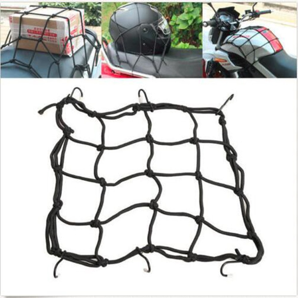 newMotorcycle modified fuel tank net bag helmet luggage net blacknewMotorcycle modified fuel tank net bag helmet luggage net black