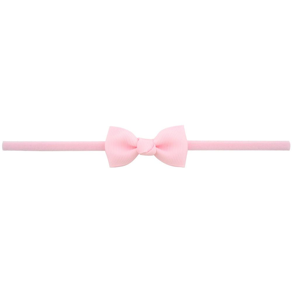 Повязка на голову для маленьких девочек; аксессуары для волос для младенцев; тканевый галстук с бантом; головной убор; Тиара; подарок для малышей; повязка на голову с лентой для новорожденных - Цвет: 11