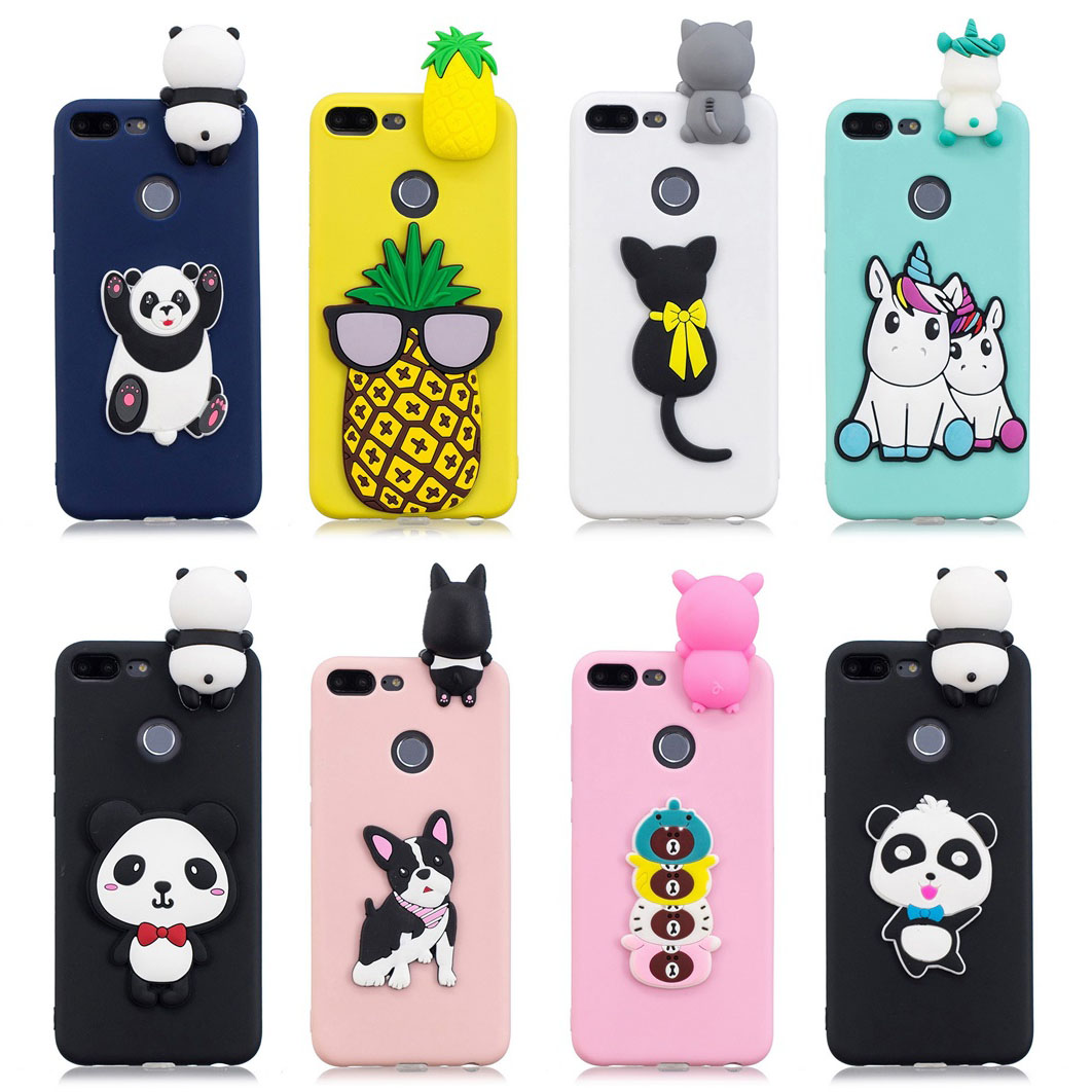 Cellphones & Telecommunications Phone Bags & Cases Honor 9 Lite Case On For Fundas Huawei Honor 9 Lite Honor9 Lite Cover Case 3d Toy Cartoon Soft Tpu Silicone Phone Cases Coque