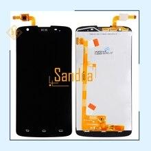I928 ЖК-дисплей HH для Philips i928 ЖК-экран дисплей с сенсорным экраном дигитайзер сборка бесплатная доставка + Инструменты Черный цвет