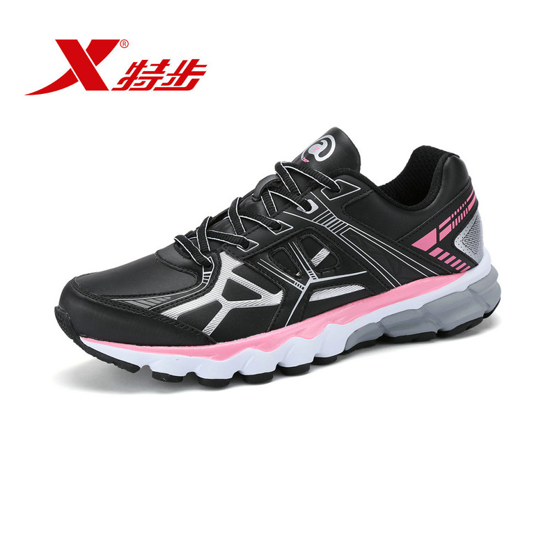 XTEP Brand women's Running Shoes Damping Athletic Sneakers Sports Run Shoes Trainers Shoes for Women free shipping 984418119255 peak sport speed eagle v men basketball shoes cushion 3 revolve tech sneakers breathable damping wear athletic boots eur 40 50