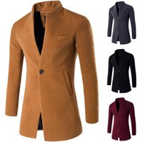Men brand Winter Jackets mens Fashion Clothing Trench Sweater Slim Long Sleeve Cardigan Warm over woollen top coats male Outwear