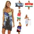 Enipate 2018 New Fashion Womens Bath Beach Towel Bathrobes Creative Spa Sauna Dress Body Beach Wrap Cover Up Swimming Skirt