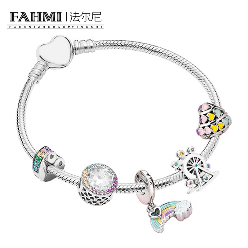 Buy Cheap Fahmi 100% 925 Sterling Silver Magic Dream Neon Zt0142 Bracelet String Ornaments Gift Set Original Women Jewelry Charming Gift Supplement The Vital Energy And Nourish Yin Jewelry & Accessories
