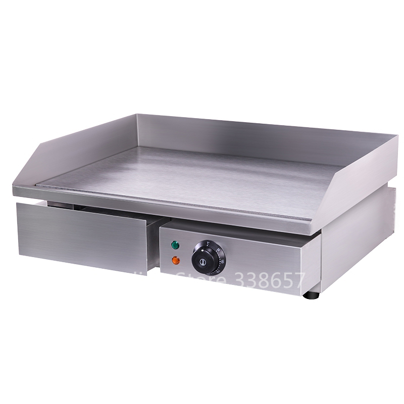 Electric Commercial Stainless Steel Flat Top Pan Oven
