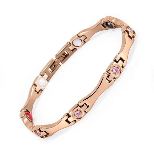 WelMag Rose Gold Bracelet...