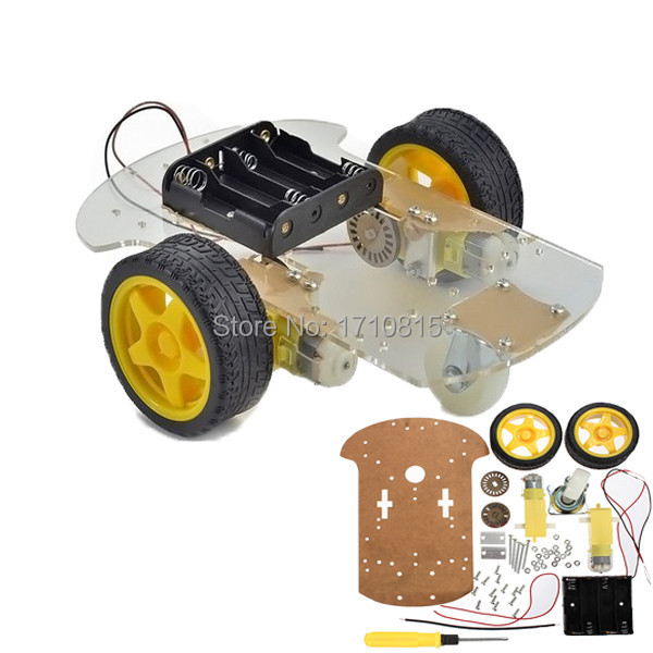 Wholesale high quality wd motor smart robot car chassis
