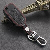 высокое качество новый дизайн натуральная кожа цепочка для ключей кольцо чехол, держатель для Шкода Октавия 2 А5 Фабия Рапид ети превосходным