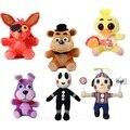Высокое качество Пять Ночей В фредди 4 FNAF Фредди Медведь & Fox & Duck & Кролик и Клоун Дети juguetes Кукла фредди игрушки для Детей подарки