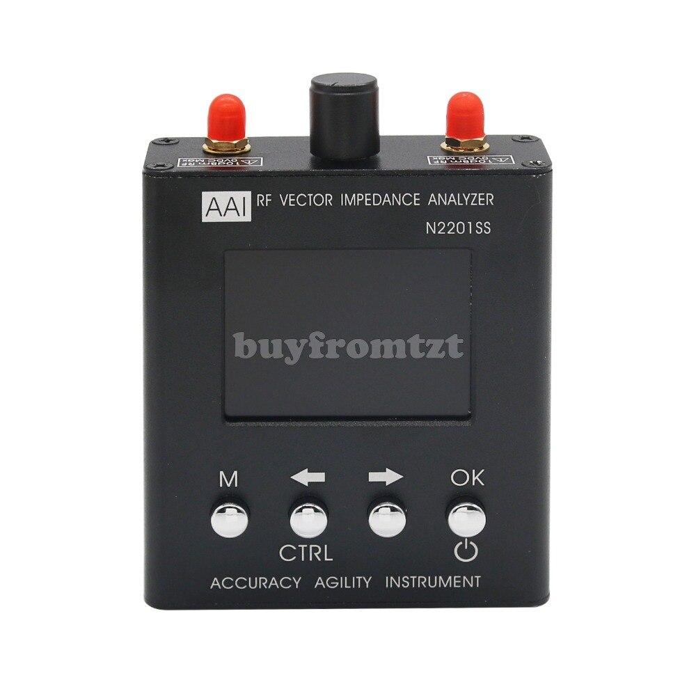 N2201SS Vectoriels RF Analyseur D'impédance Antenne Testeur 137.5-2.7HMz Résistance/Impédance