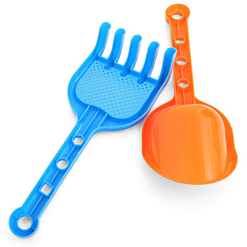 SLPF 2 Piece Set Summer Hot Children Beach Toys Tools Plastic Shovel Sand Snow Target Kids Baby Outdoor Games Play House Toy N15 4