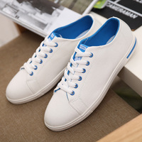 Best New British Style Charm White Low Style Canvas Shoes Men Shoes Casual Shoes Men Flats