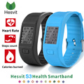Best Price Heart Rate Monitor Smart Band Hesvit S3 Smart Bracelet Sport Smart Wristband Fitness Sleep Tracker For samsung xiaomi