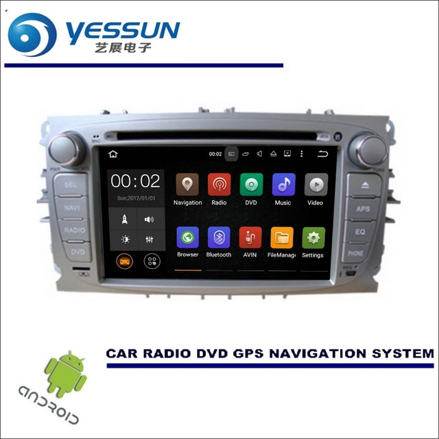 Yessun Wince Android Car Multimedia Navigation For Ford Focus S Max Mondeo Cd Dvd Gps Player Navi Radio Stereo Hd