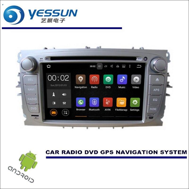 YESSUN Wince/Android voiture multimédia Navigation pour Ford pour Focus/s-max/pour Mondeo CD DVD GPS lecteur Navi Radio stéréo HD