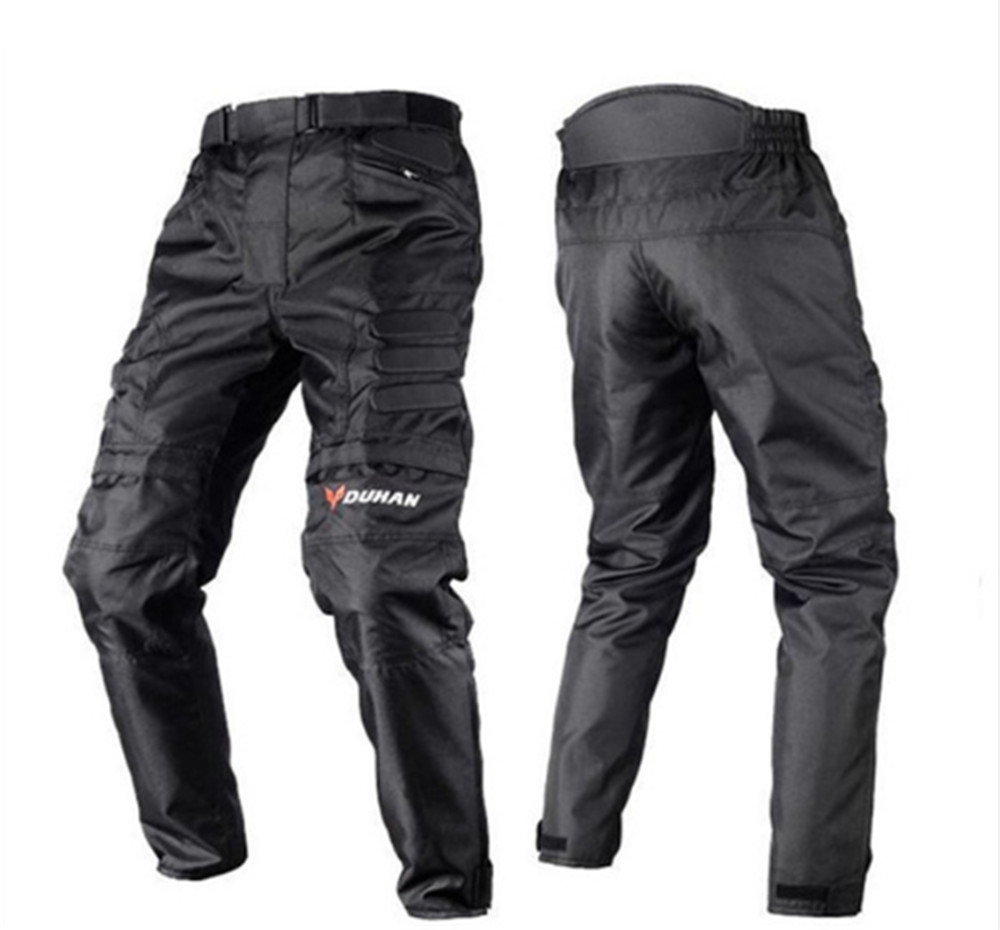 Motorcycle Racing Pant Waterproof Windproof By Tongnai PU Equipped With Protective Equipment Suitable For Autumn And Winter