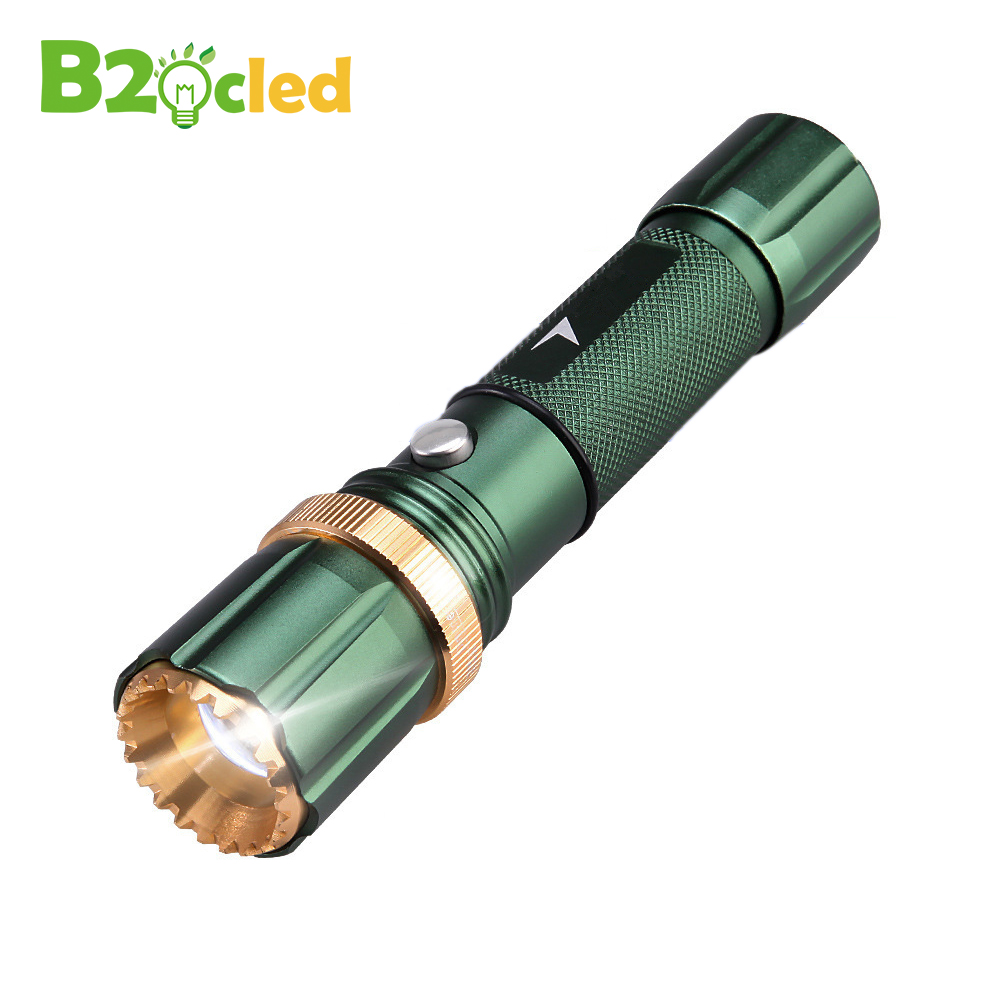 Zoom LED Flashlight LED 6000LM Cree Q5 Flash Light 3 Mode