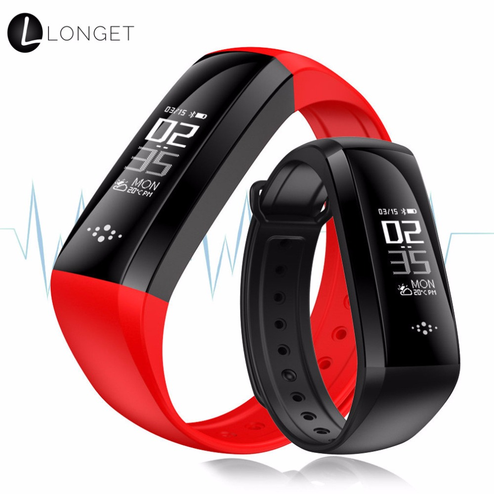 M2S Fitness Tracker Sport Blood Pressure Smart Bracelet Waterproof Heart Rate Monitor Wa ...