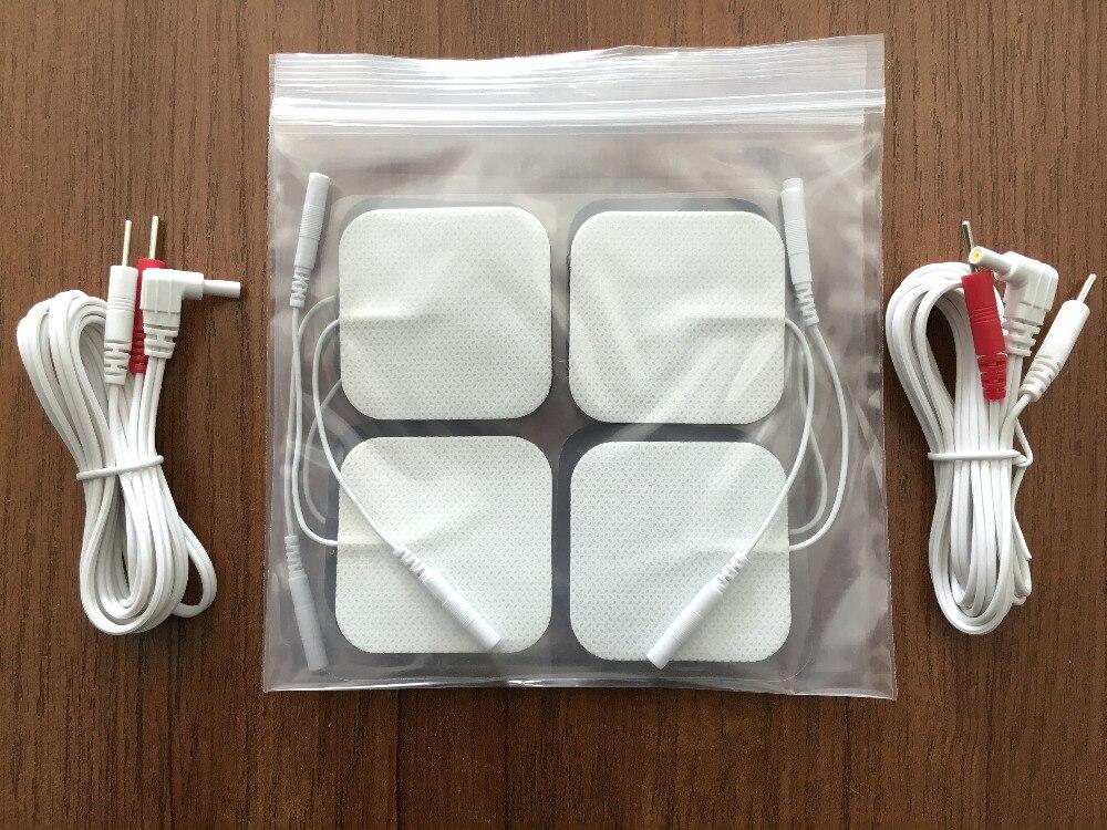 2 Piece DC 2.35mm 2-pin elektrod Membawa wayar / kabel dengan 3 pak - Penjagaan kesihatan - Foto 2