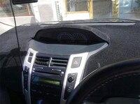 Dashmats Car Styling Accessories Dashboard Cover For Toyota VIOS Yaris Sedan Belta 2007 2008 2009 2010