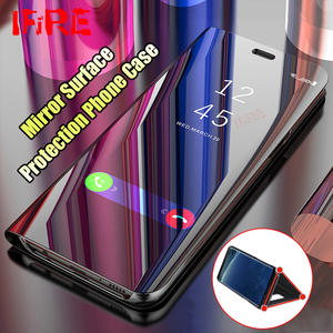 Phone-Cases Samsung Galaxy Note 8-Cover S7-Edge 360 for A5 A7 J5 J7 S8 S9-Plus Flip-Stand