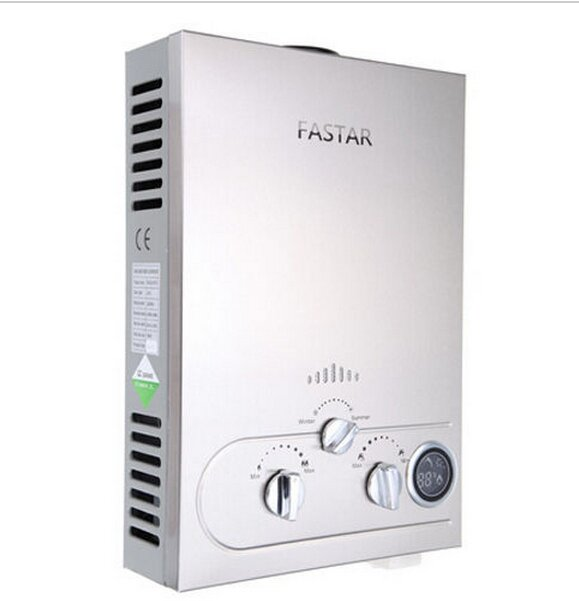 Limited Flue Type 8l-12l Emc  Fast Delivery Tankless 8l Lpg Propane Gas Hot Water Heater Lcd Ce 100% Quality Grantee
