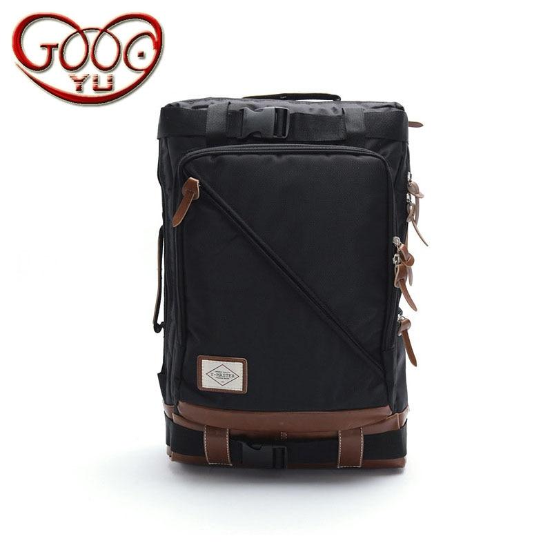 Men's Korean fashion zipper nylon shoulder bag wear, burden, waterproof, anti-theft, shock, breathable creative casual nylon men 1