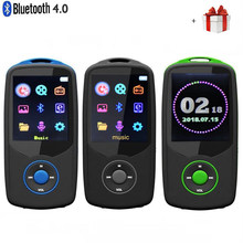 2018 Updated Version New RUIZU X06 Bluetooth4.0 MP3 Music Player 8GB/16GB Color Menu Screen High Quality with FM Radio,Recorder(China)
