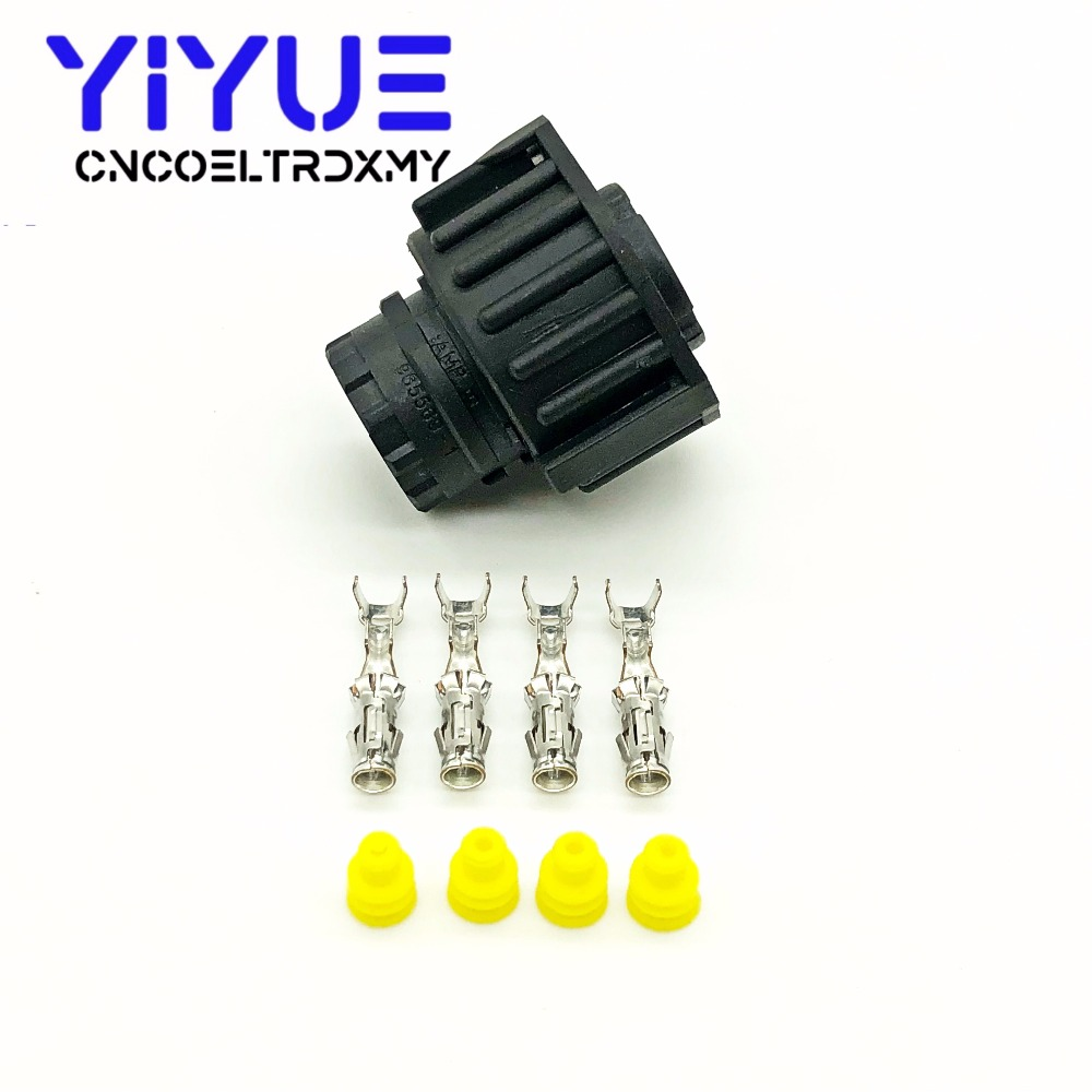 1 sets 4 pin tyco round HOWO A7 odometer speed sensor plug sealed auto connector 1-967325-1 (4)