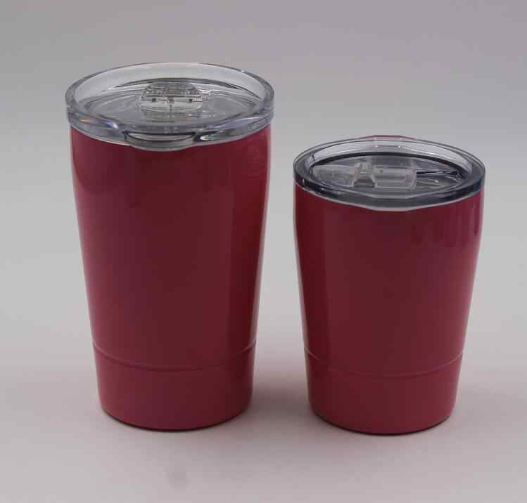 045c084145c ... 20pcs 12oz 8.5oz Mini tumbler wine glasses Stainless Steel Travel  Vehicle Beer Mug non- ...
