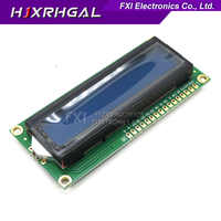 1PCS LCD1602 1602 module Blue screen 16x2 Character LCD 1602 5V green screen and white code for arduino