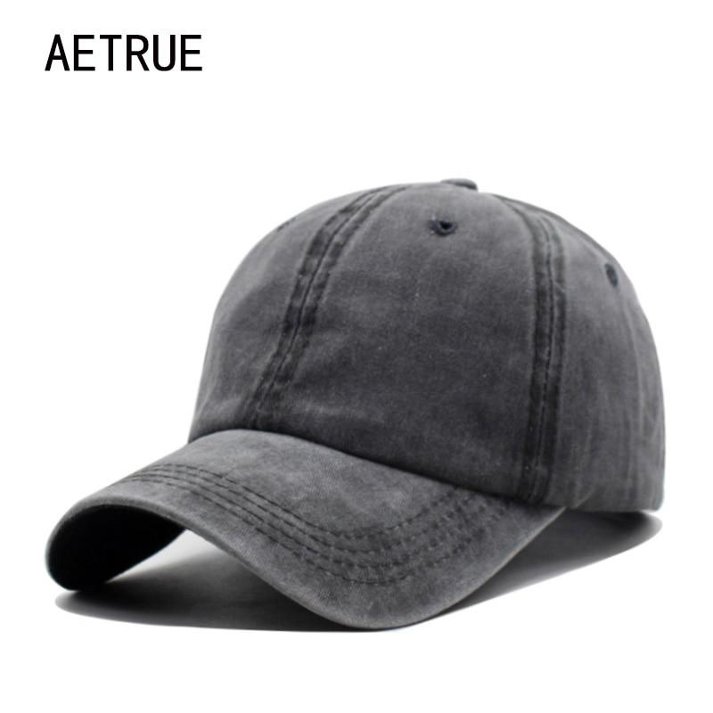 Aetrue marca moda mujeres gorra de béisbol hombres SnapBack gorras  casquette bone sombreros para hombres sólidos casual llanura gorras  sombrero en Gorras de ... ae8460419f0
