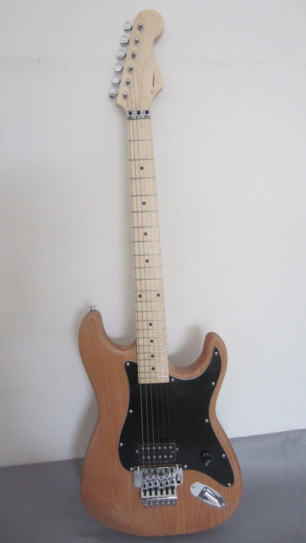 Livraison gratuite alder corps EVH kits de guitare/charvel guitare inachevée/bricolage guitare avec floyd rose lincense bridge