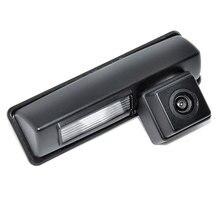 Color CCD/HD cámara Ajuste Para Toyota 2007 y 2012 camry Coche Cámara de Visión Trasera Inversa Cámara de Reserva de aparcamiento ayuda
