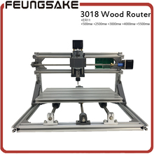 3018 cnc router carving machine 3axis diy mini machine Pcb Pvc Milling Machine Wood engraving machine